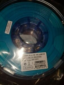 Esun Pla+ 2.85 3D Filament light blue brand new unopened