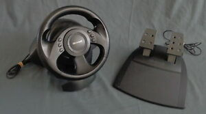 MICROSOFT SIDEWINDER PRECISION PC Racing wheel Racestuur and pedals Steering USB