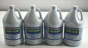 Dymon Liquid Alive Enzyme Producing Bacteria 1 Gallon Bottle 4/carton 23301 New