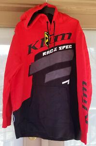 Klim Race Spec Hoodie Red Size Large
