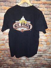 Harley Davidson  Men's T Tee Shirt Size Medium M Black Saint St Paul MN