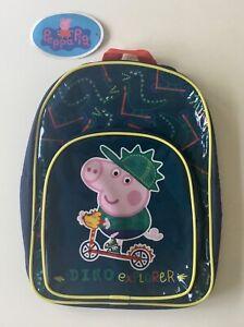 Peppa Pig 'George Pig' Backpack - Free 1st Class Postage