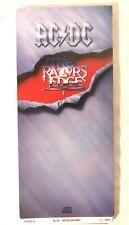 METAL ROCK AC/DC Razors Edge Christmas longbox NO CD Empty Promo Press Box