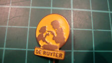 De Ruijter speldje pin badge 60s 60's original lapel Dutch