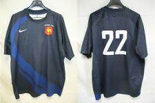 Maillot rugby QUINZE de FRANCE shirt Ecosse 2008 ROUGERIE n°22 NIKE FFR Scotland
