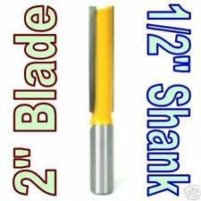 "1 pc 1/2"" SH 2"" Blade Extra Long Straight Router Bit sct-888"