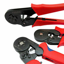 Ratchet Crimper Cable Wire Terminals Electrical Adjustable Plier Crimping Tool