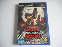 JEU PLAYSTATION 2 - NINJA ASSAULT ( avec notice )