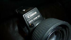 TESTED Camera Vintage Canon AUTO Zoom 512XL  Super 8 Black