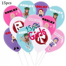 Roblox Girls 15pcs Mix Latex  Balloons.