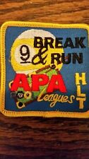 APA 9 BREAK AND RUN 9BALL AMERICAN POOLPLAYERS HLT