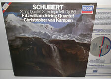 SXDL 7571 Schubert String Quartet Fitzwilliam String Quartet Chris Van Kampen