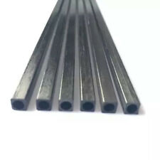 Vierkantrohre Carbon Stäbe Rundloch 2-10mm Fiber Rods Kohlefaser Rundstab Stab