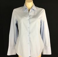 Womens 16 Shirt EASY CARE Washable Light Blue Long Sl JONES WEAR Career Long Sl