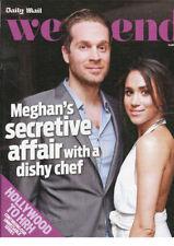 Diario Mail: harry's Wife meghan's Affair Chef Cory , Hollywood a HRH 14.4.18