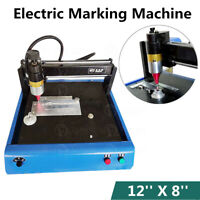 8'' x 12'' Electric Sign Making Machine Metal Nameplate Steel Plastic Engraving