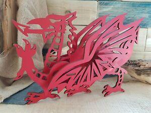 3D Welsh Dragon