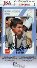 Dean Smith JSA Coa Autograph 1989 North Carolina Hand Signed