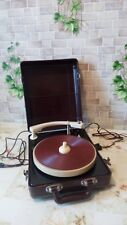 """Vintage USSR 1950"""" GRAMOPHONE PHONOGRAPH Portable Record Player - MMZ (EX)"""