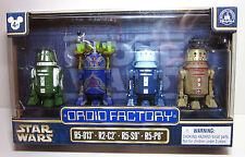 2017 Disney Star Wars Celebration Droid Factory Set R5-013 R2-C2 R5-S9 R5-P8