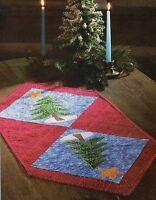 Pine Tree Runner Quilt Pattern Pieced/Applique BD