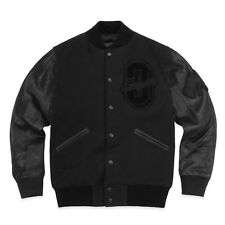 NEW October's Very Own OVO X ROOTS VARSITY JACKET STEALTH BLACK LARGE Drake LG