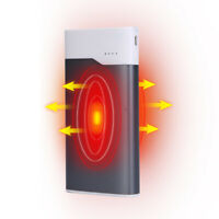 Rechargeable Pocket Hand Warmer Heater USB Charger 10000 mAh Power Lasts 8 Hours
