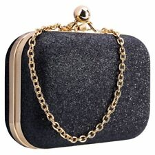 Women's bling evening party handbag Wedding ball clutch bag with chain Mini T5Z5