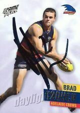 ✺Signed✺ 2013 ADELAIDE CROWS AFL Card BRAD CROUCH