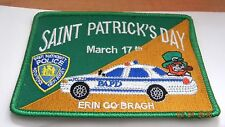 Port Authority of NY & NJ Police Dept.Saint Patty's Day patch... not NYPD