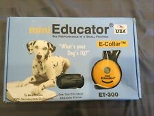 Einstein e-Collar Mini Educator 1/2 Mile Remote Dog Trainer ET-300 ET-302