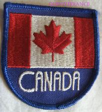 IN12747 - PATCH INSIGNE TISSU NATIONALITE CANADA