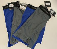 NEW 4-Pack ExOfficio Give-N-Go Boxer Brief Men's M Medium - 2x Blue 2x Grey