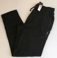 Men M L XL Polo Ralph Lauren Joggers Sweat Track Pants Black GENUINE NEW