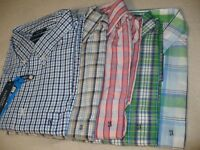 NEW NWT SADDLEBRED MEN'S BUTTON FRONT SHIRT BIG & TALL SIZE 2XLT 3XLT 2X 3X 4X