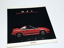 1988 Toyota MR2 Brochure