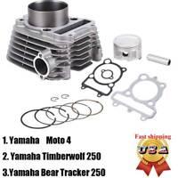 New Top End Cylinder Kit for Yamaha YFM250 Bear Tracker 1999 2000 2001 2002 2003