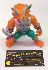 1990 TMNT Triceraton Complete Mirage Studios Playmate Toys Action Figure