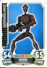 Star Wars Force Attax Series 3 Card #127 Commando Droid