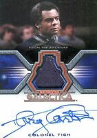 Battlestar Galactica Colonial Warriors Terry Carter Autograph Costume Card #17/2