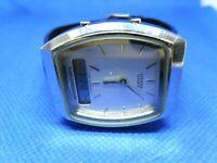 VINTAGE Montre Watch Uhr CITIZEN QUARTZ ALARM CHRONOGRAPH T010-085725-Y JAPAN