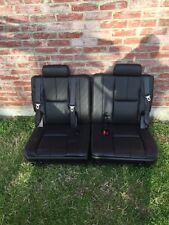 2007-2014 FACTORY 3RD ROW SEATS BLACK LEATHER TAHOE SUBURBAN YUKON
