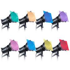 Neewer luz juego de filtros de gel de corrección de 8-color