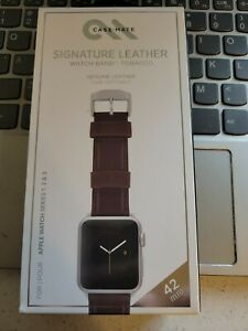 Casemate for ALL Apple Watch Band Series 1 2 3 4 5 6 - Leather Straps NEW 42MM