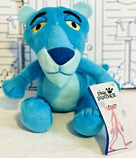 New Pink Panther Blue Doll Plush Toy FACTORY Big Head Stuffed Animal Cartoon NWT