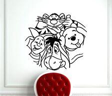 Winnie The Pooh Wall Decal Tigger Piglet Eeyore Vinyl Sticker Art Mural (398z)