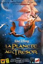 "DISNEY TREASURE ISLAND ORIGINAL  D/S FRENCH MOVIE POSTER 2002 69"" X 47"" LARGE"