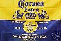 Corona Beer RV NASCAR Toy Box trailer home flag #R-0015