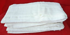 "Ex-MOD White Hand Towels UNUSED x 2 (48"" x 23"")"