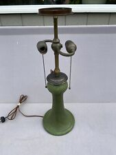 Grueby Leaded Lamp, Slag Shade,Arts Crafts,Tiffany Studios,Handel Lamp Era.
